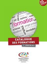 chambre des metiers 74 catalogue des formations de la cma 74 2ème semestre 2013 by