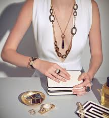 layered rings necklace images How to wear layered jewelry this fall jpg