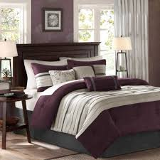 Twin White Comforter Comforter Set Steel With Placed On Steel Purple And White