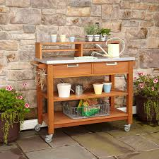 Outdoor Potting Bench With Sink Garden Potting Bench Kits Home Outdoor Decoration