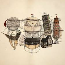 41 best steampunk style drawings images on pinterest steampunk