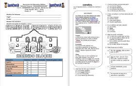 examen de 5 grado con respuestas examen del cuarto grado para el segundo bloque del ciclo escolar