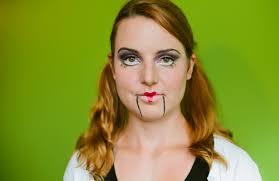 halloween makeup for a ventriloquist u0027s dummy