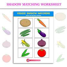 shadow matching worksheet inky treasure