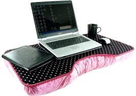 Laptop Desk With Cushion Idea Laptop Pillow Tray Or Picturesque Desk For Laptop Picture