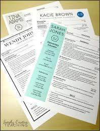 Sample New Teacher Resume by Best 25 Teaching Resume Ideas Only On Pinterest Teacher Resumes