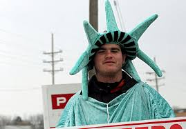 dude looks like a lady lady liberty that is feature st