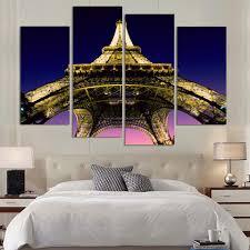 Eiffel Tower Bed Set Online Get Cheap Paris Eiffel Tower Painting Aliexpress Com