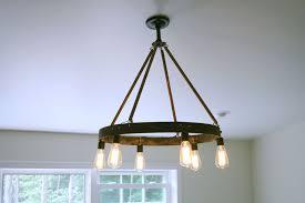 Exposed Bulb Chandelier Chandeliers Edison Bulb Chandelier Type B Edison Light Bulb