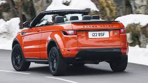 red land rover range rover evoque convertible 2 0d hse dynamic lux 2016 review