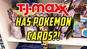 pokemon cards from tjmaxx pokemon card buying and opening youtube