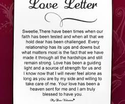 love letter for her from the heart format