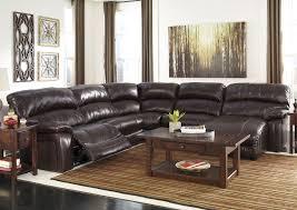 home furnishings depot ny damacio dark brown reclining right