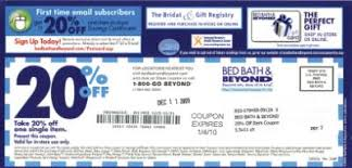 Bed Bath And Beyond 20 Percent Off Coupon Bed Bath U0026 Beyond Eliminating Coupons
