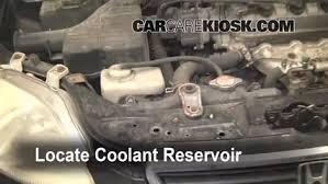 honda accord radiator fluid how to add coolant honda civic 1996 2000 1997 honda civic lx
