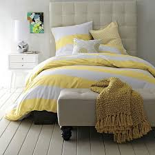 yellow white duvet cover sweetgalas