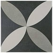 Home Depot Tile Flooring Tile Ceramic by Merola Tile Twenties Classic Ceramic Floor And Wall Tile 7 3 4