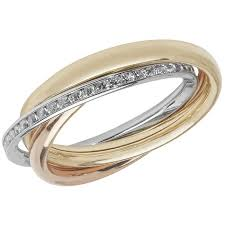 russian wedding rings three colour gold russian wedding band ring