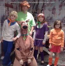 Scooby Doo Halloween Costumes Family Simple Easy Velma Costume Scooby Doo Gang