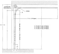 clear scheme blueprint for standard garage door sizes can