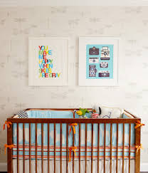 Gender Neutral Nursery Themes Gorgeous Crib Bumpers In Nursery Contemporary With Slanted Walls