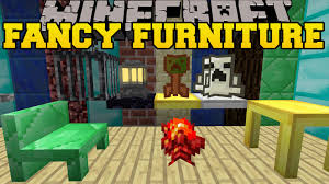 Minecraft Table Decorations Minecraft Fancy Furniture Tables Chairs Chimneys U0026 Cool