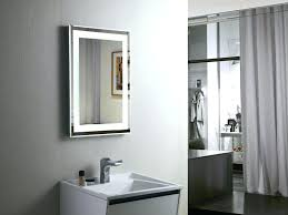 bathroom sink mirror lighted makeup mirrors vs wall mounted vanity mirrors bathroom wall