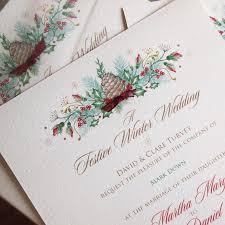 christmas wedding invitations christmas wedding invitations paper pleasures wedding stationery