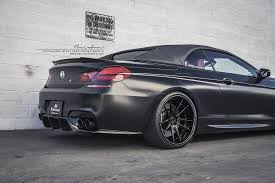 custom black bmw bmw f12 m6 brixton forged wheels