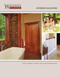 Home Interior Catalog 2012 Waudena Millwork Interior Millwork Catalog 2015 By Wausau