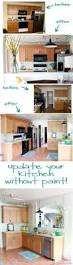 Kitchen Oak Cabinets Best 25 Updating Oak Cabinets Ideas On Pinterest Painting Oak