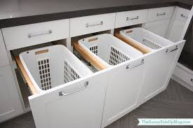 Contemporary Laundry Room Ideas Great Built In Laundry Basket Built In Laundry Hampers