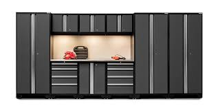 Newage Products Stainless Steel Classic 7 Piece 86x36x86 In by New Age Cabinets List Price Metal Cabinets New Age Cabinets
