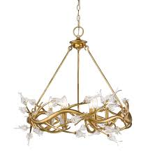 Brass Light Gallery by 6 Light Chandelier 9942 6 Gl Valley Light Gallery