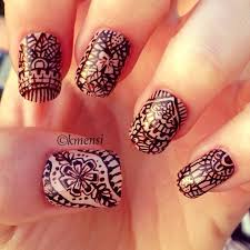 67 best henna nails images on pinterest henna mehndi mandalas
