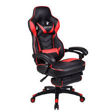 Recliner Gaming Chairs Recliner Office Racing Gaming Chair High Back Executive Ergonomic