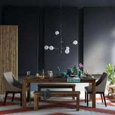 mobile chandelier chandeliers west elm dining table and kitchen