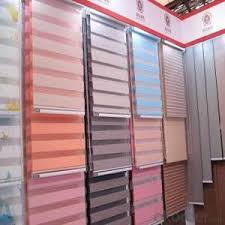 Electric Curtains And Blinds Buy Motorized Transparent Pvc Fabric Window Blinds Office Curtains