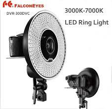 best led ring light falcon eyes dvr 300dvc 300 ring led panel 5600k light lighting best