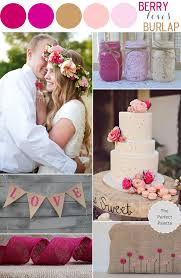 Colors That Go With Brown Color Story Berry Loves Burlap The Perfect Palette