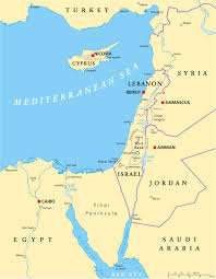Map Of Israel And Middle East by Map Israel