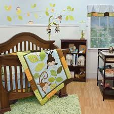 Swinging Crib Bedding Sets Monkey Crib Bedding Totally Kids Totally Bedrooms Kids
