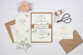 wedding stationery wildflower illustration co wedding stationery