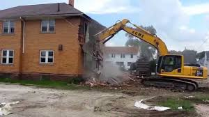 Brick House by Tearing Down Brick House Demolition Youtube
