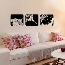 Modern Wall Stickers For Living Room Compare Prices On Floral Wall Decorations Online Shopping Buy Low