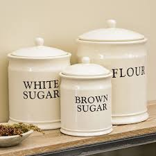white kitchen canister sets ceramic canister sets what s the trend in kitchen canister sets