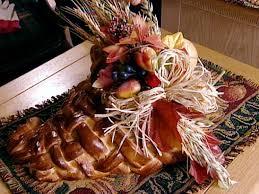 woven dough thanksgiving cornucopia hgtv