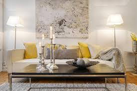 Scandinavian Room Interior Inspiration Grey And Yellow As Seen In Scandinavian