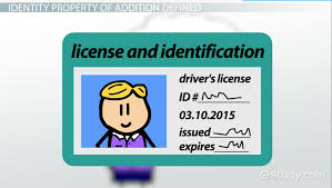 identity property of addition definition u0026 example video