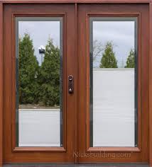Patio Doors Atlanta by Patio Doors Wood Patio Doors N Double With Shades Unbelievable